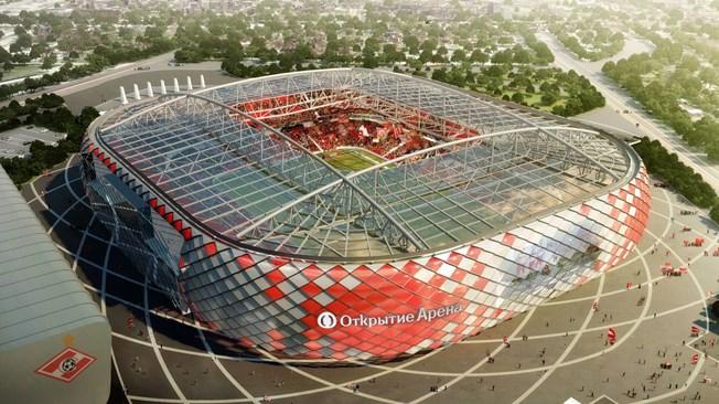 Moskow: Otkrytieje Arena