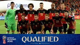 team photo for Belgium