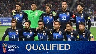 team photo for Japan
