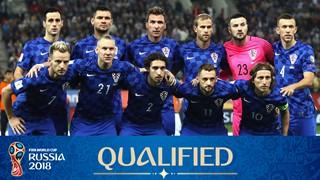 team photo for Croatia
