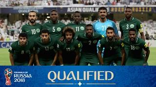team photo for Saudi Arabia