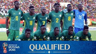 team photo for Senegal