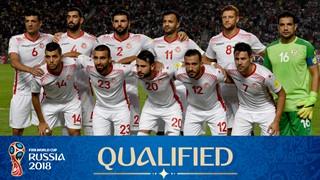 team photo for Tunisia